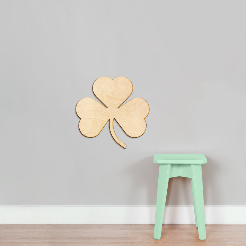 Shamrock Wood Cut