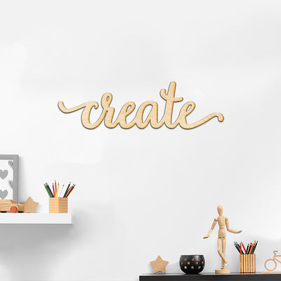 create Wood Sign
