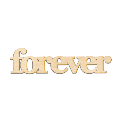 forever Wood Sign