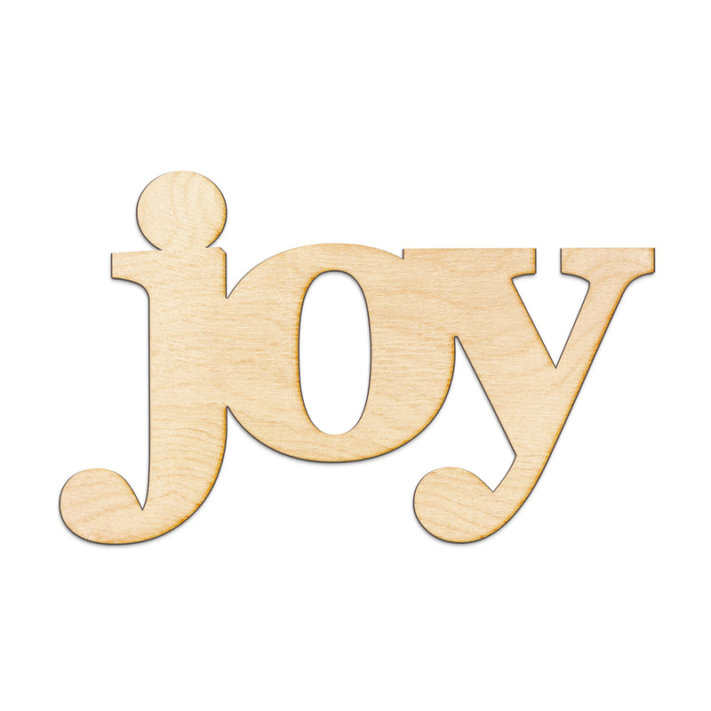 joy Wood Sign