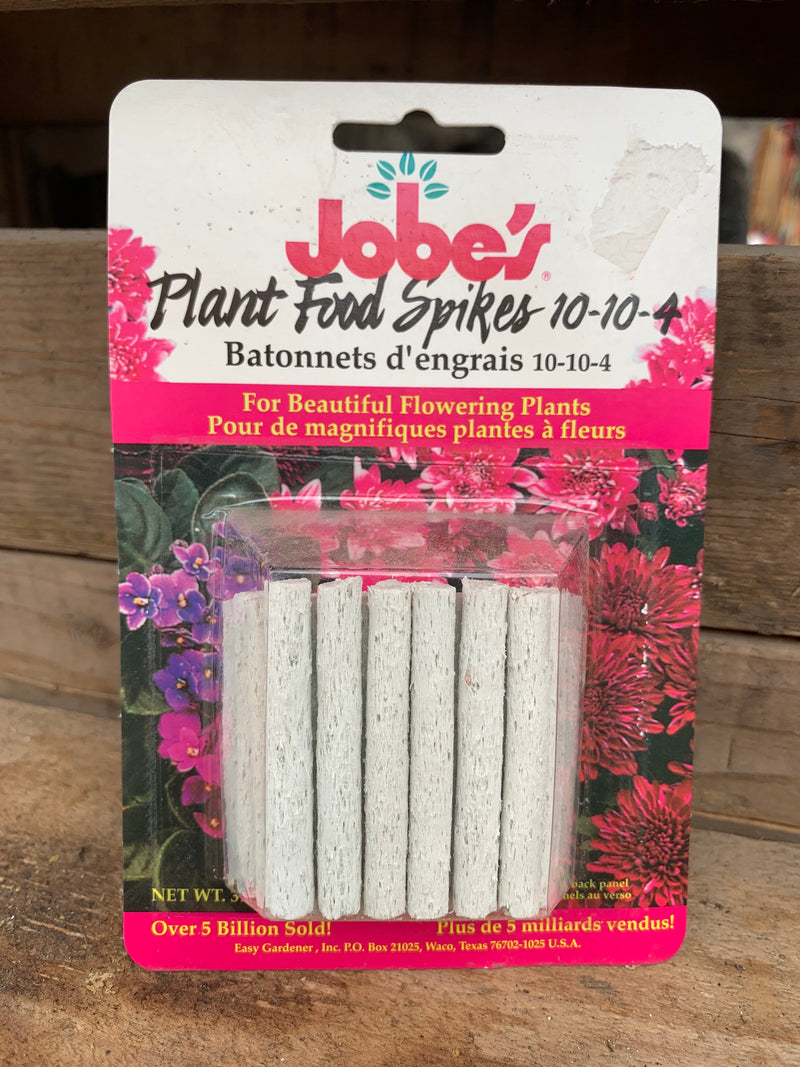 Jobe's Plant Food Spikes for Flowering Plants (10-10-4)