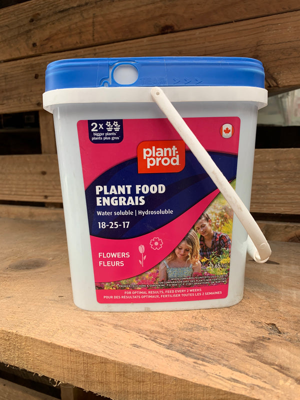 Plant Food Water Soluble: Flowers (18-25-17)