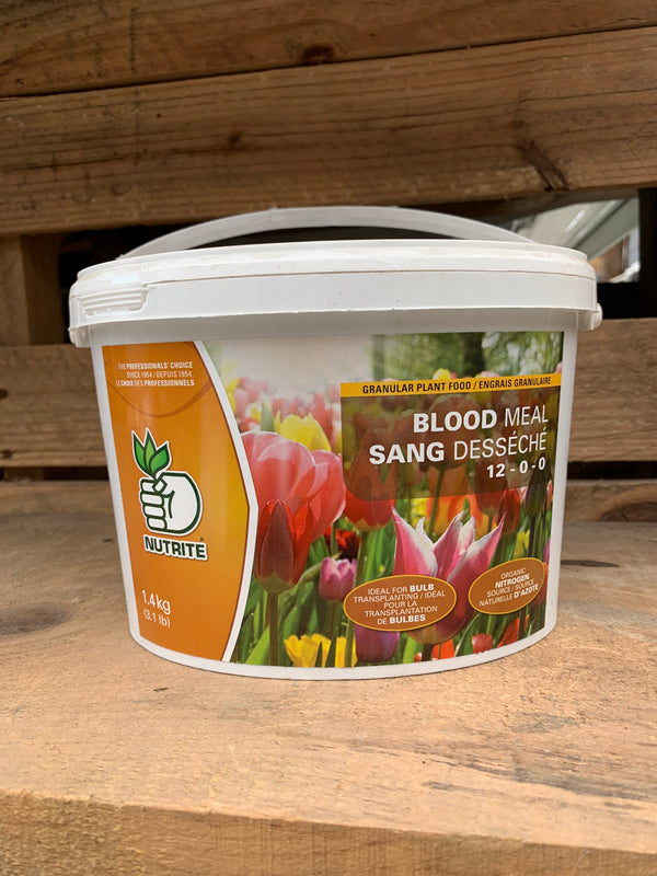 Granular Plant Food - Blood Meal (12-0-0)