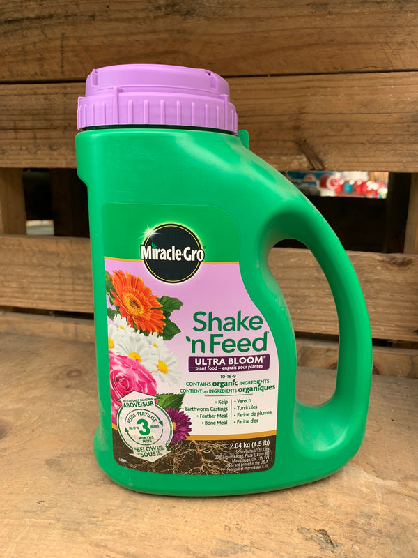 Miracle-Gro® Shake 'N Feed® Ultra Bloom Plant Food
