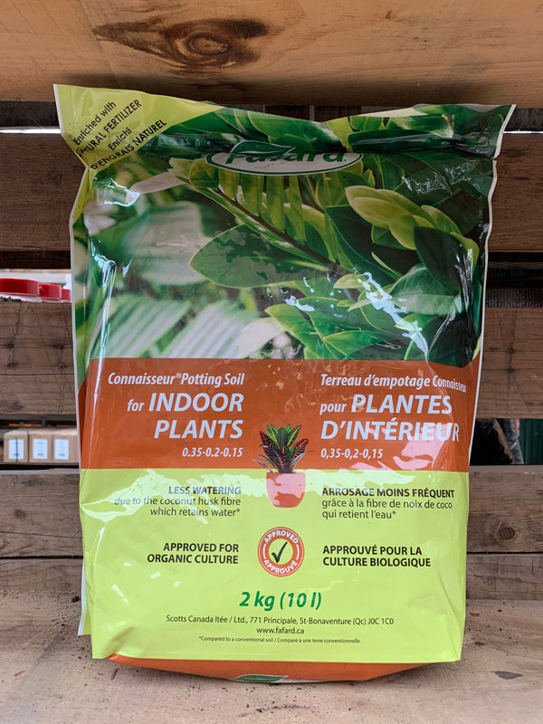 Fafard Soil for Indoor Plants