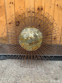 "Copper Dandelion 30"" Wall Décor"