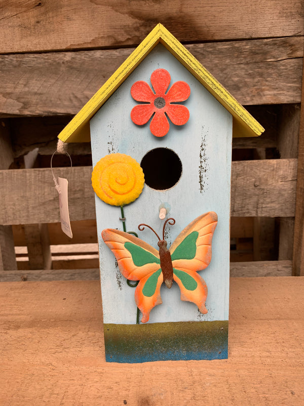 Colourful Bird Houses