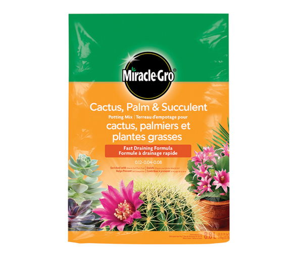 Miracle-Gro(R) Cactus, Palm and Succulent Potting Mix - 8.8 L