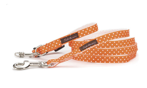 Teacup Orange/White Mini Polka - 105