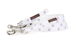 White/Purple Dots - 110