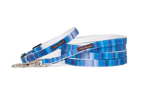 Teacup Blue Candy Stripe Collar/Harness/Lead - 113