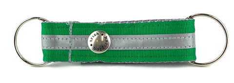 Kelly Green Reflective Snappy Keychain - 411