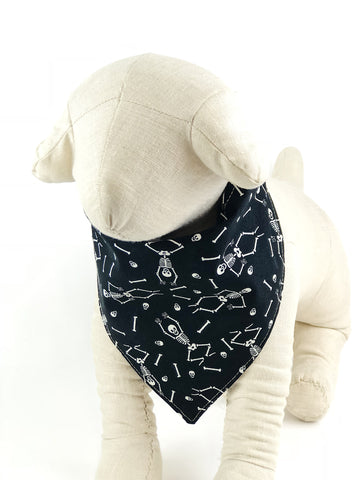 Skeletons Dog Bandana - 1025