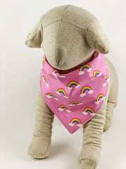 Rainbow Dog Bandana - 1022