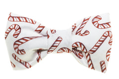 Candy Canes Dog Bow Tie - 997