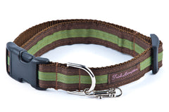 Chocolate/Green Stripe - 301