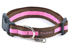 Chocolate/Hot Pink Stripe - 302