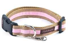 Tan/Light Pink Stripe - 308