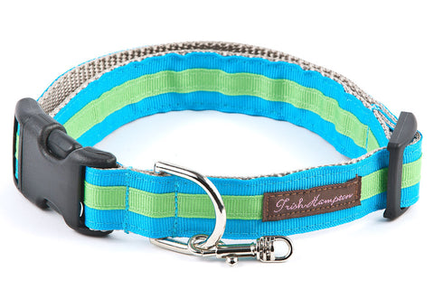 Bright Aqua/Green Stripe - 311