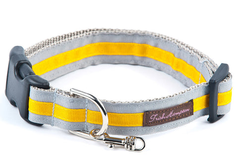 Grey/Gold Stripe - 320