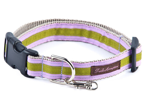 Pale Purple/Sage Stripe