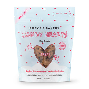 Candy Hearts Soft & Chewy Treats - Bocce's Bakery