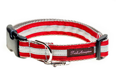 Red Reflective  - 3m - Dog Collar - 414