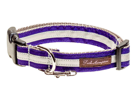 Purple Reflective - 3m - Dog Collar 415