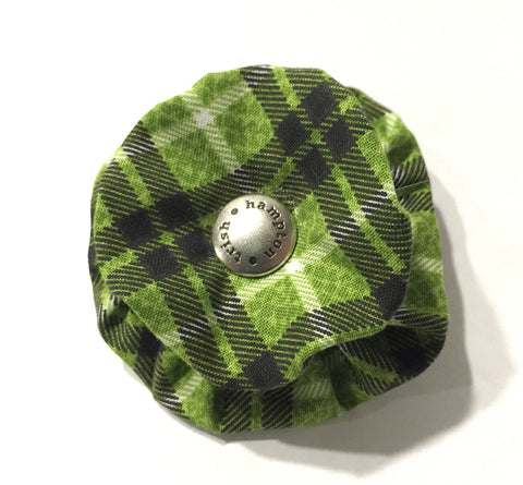 Green/Brown Plaid - 855