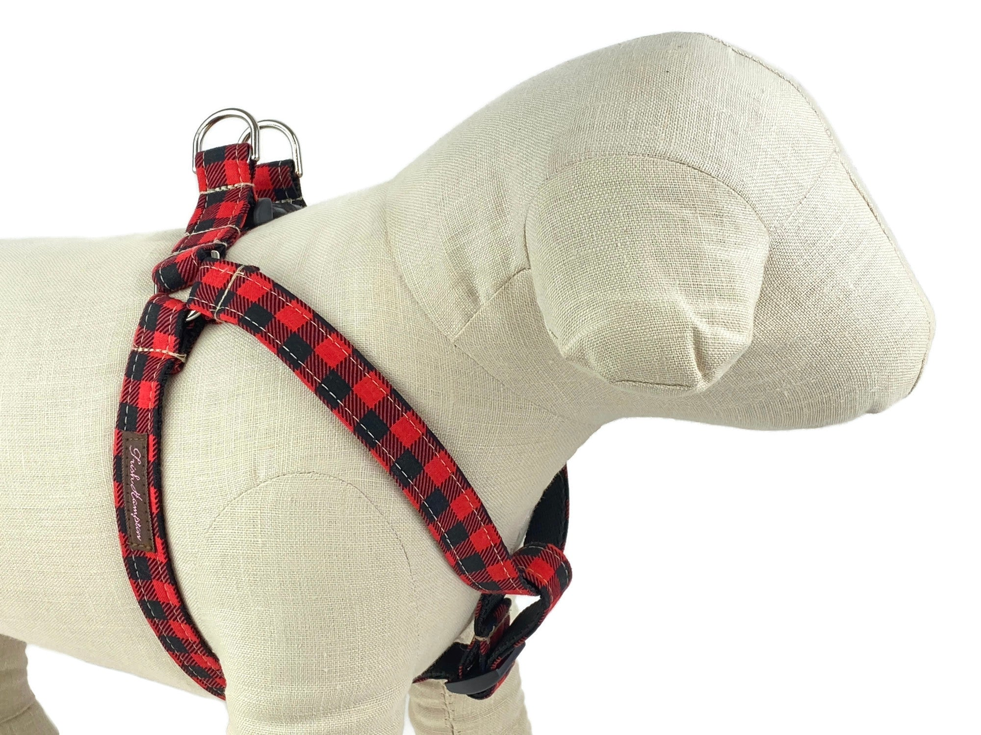 Small Buffalo Plaid Dog Harness - 901