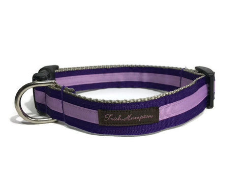 Purple/Lilac Stripe - 335