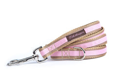 Tan/Light Pink Stripe