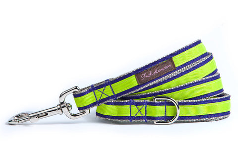 Purple/Neon Green Stripe