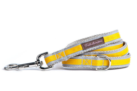 Grey/Gold Stripe