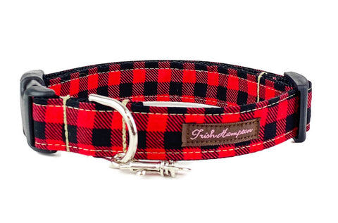Buffalo Plaid Dog Collar - 901
