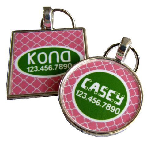 Garden Trellis Dog License Tag