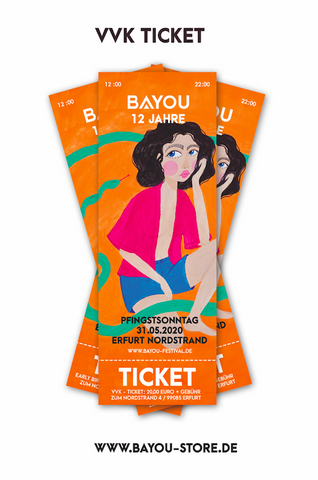 BAYOU 2020 / 12 YRS VVK TICKET 6+1