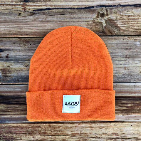 BAYOU BEANIE - Orange