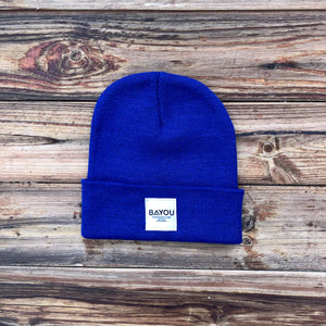 BAYOU BEANIE - Bright Royal
