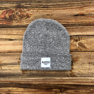 BAYOU BEANIE - Heather Grey