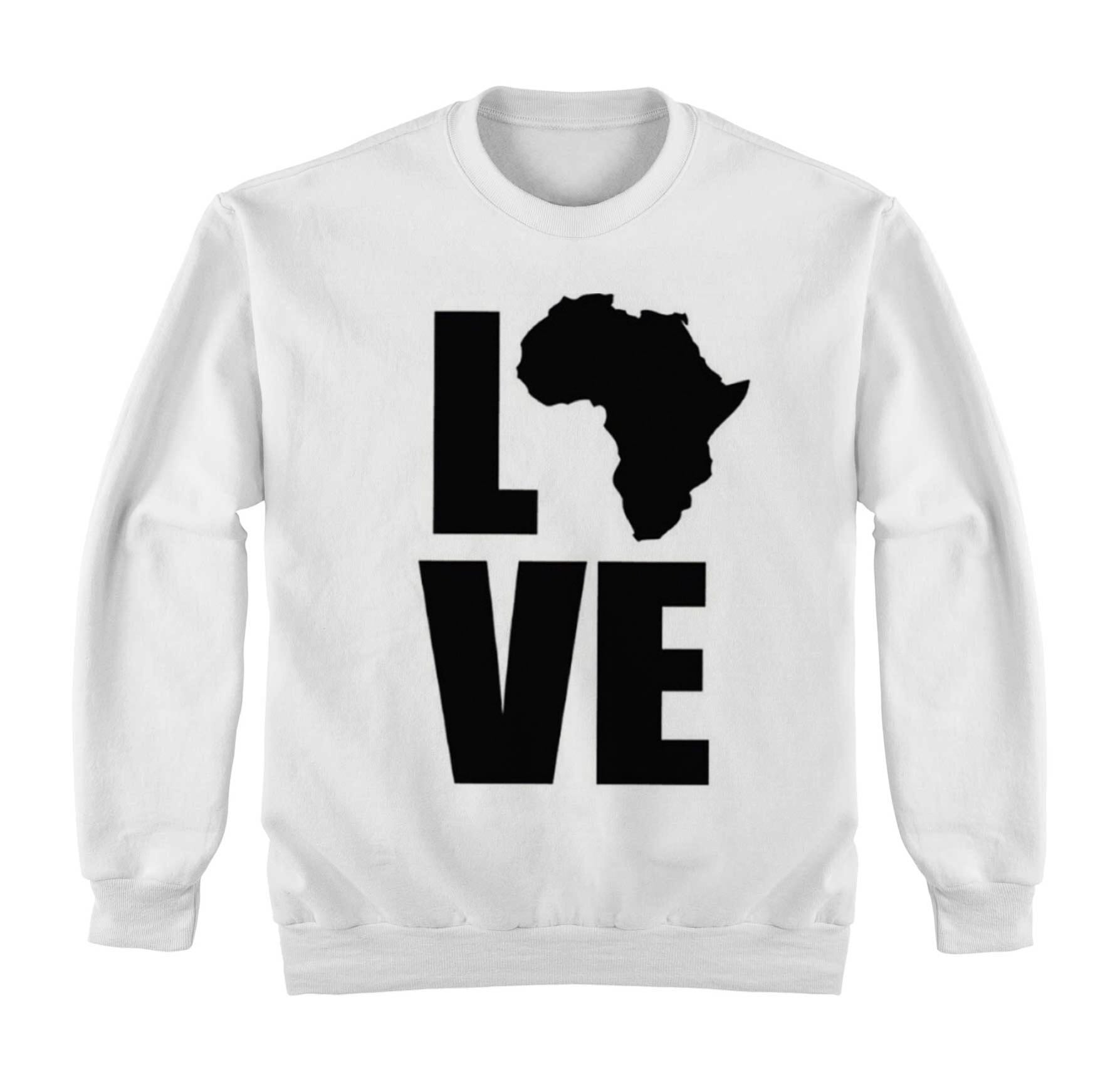 Love Africa sweater