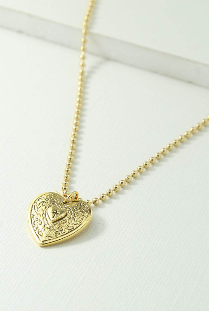 Angelica Heart Necklace