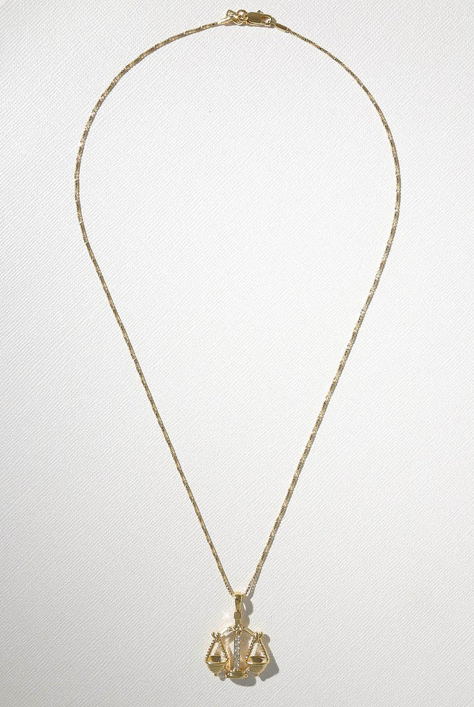 Vanessa Mooney - The Libra Star Sign Necklace
