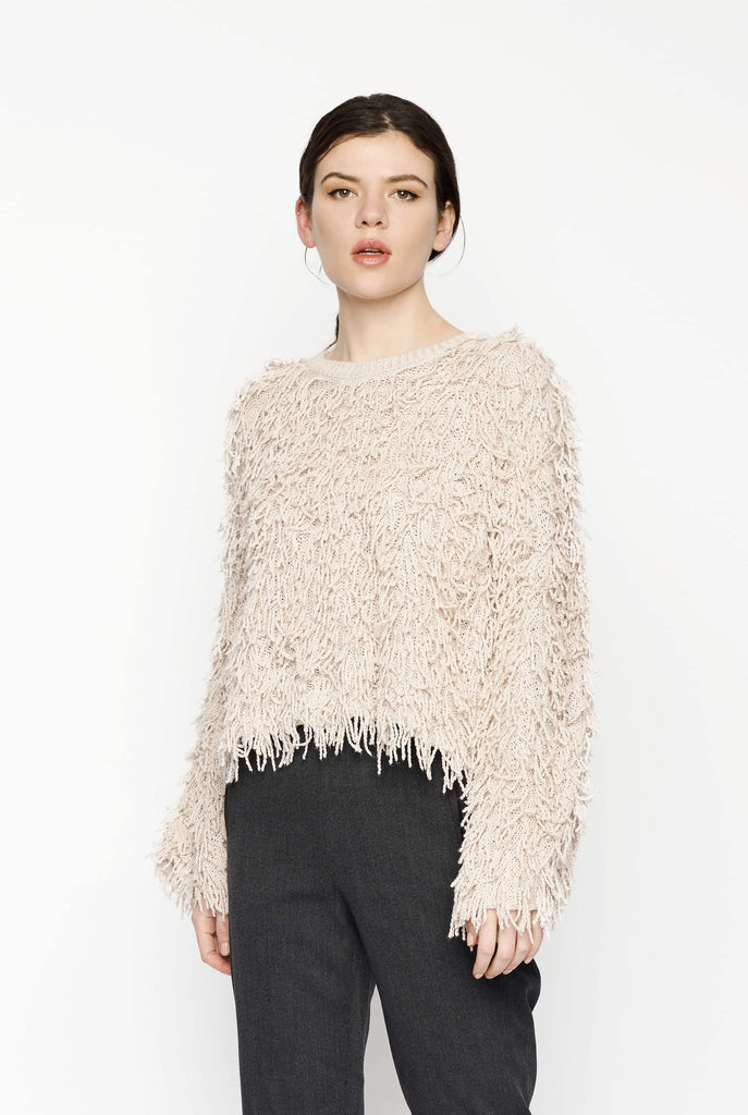Big Fashion Sale A.L.C Toby Sweater Cream