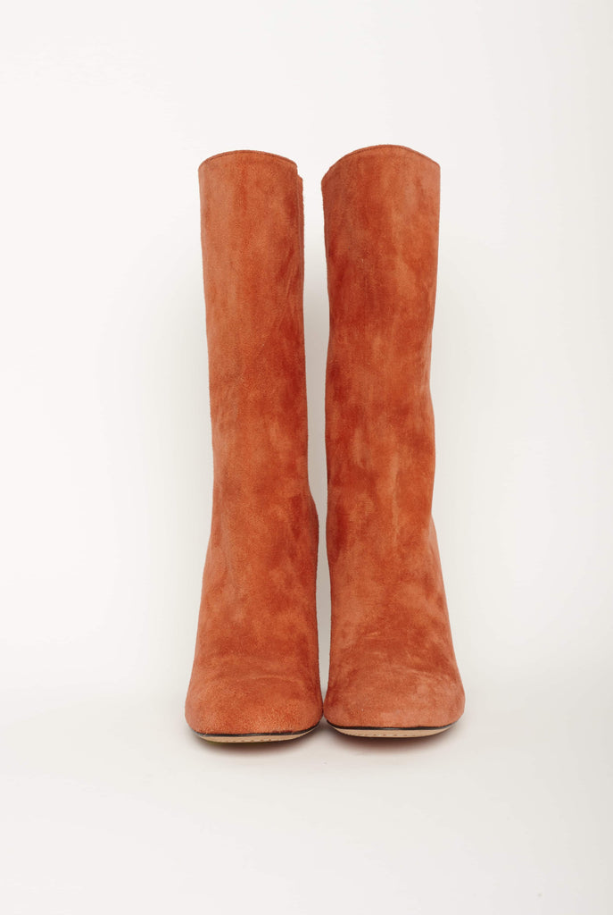 Big Fashion Sale Alexander McQueen Cashmere Suede Boot