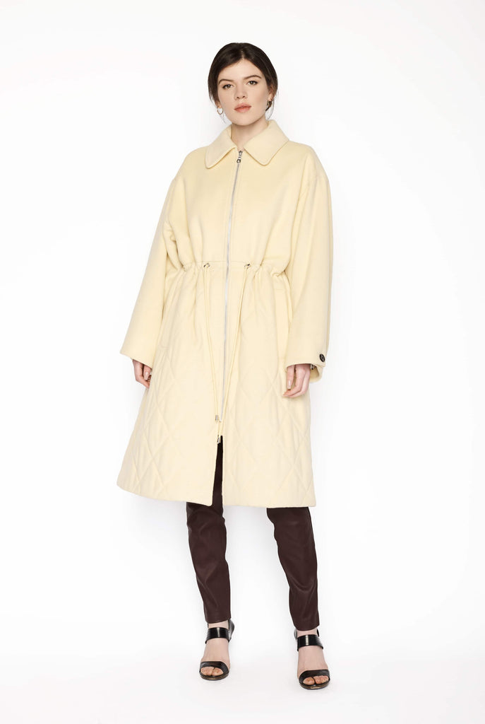 Big Fashion Sale Baum & Pferdgarten Wool Blend Peacoat Straw Yellow