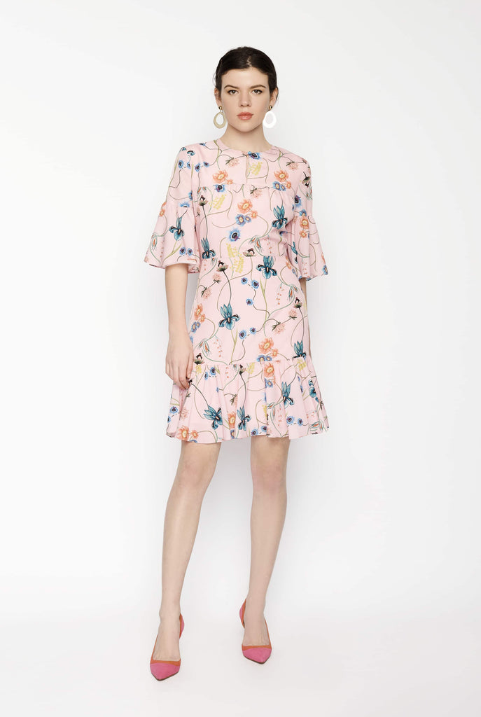 Big Fashion Sale Borgo De Nor Alba Floral-Print Dress