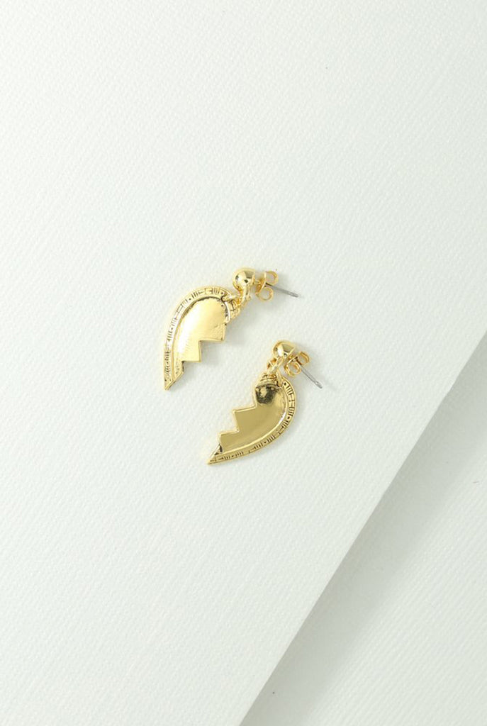 Broken Heart Friendship Earrings