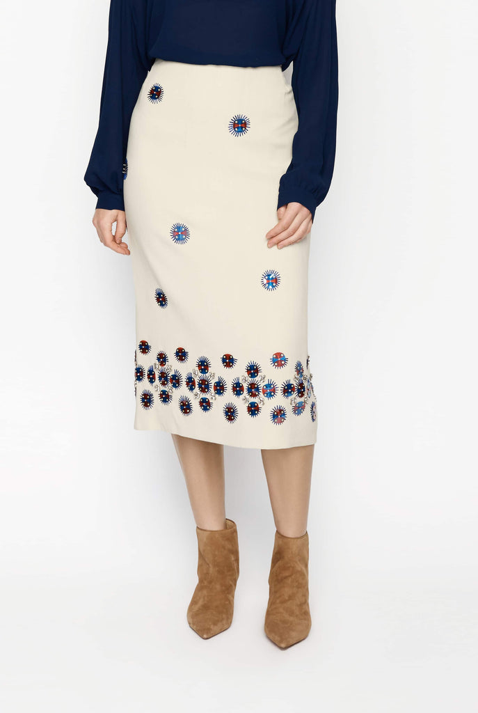 Big Fashion Sale Dries Van Noten Embellished SKirt