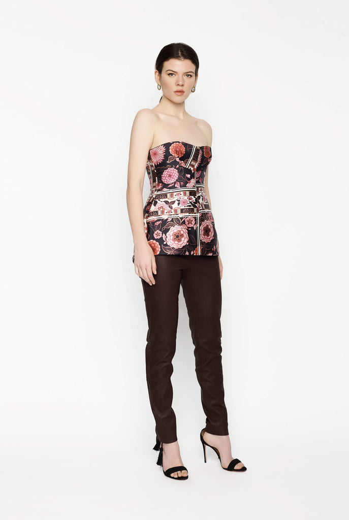 Big Fashion Sale Ellery Pink Floral Print Bustier
